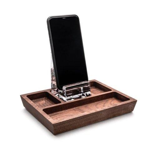 $80.00 Phone Holder Caddy - Walnut