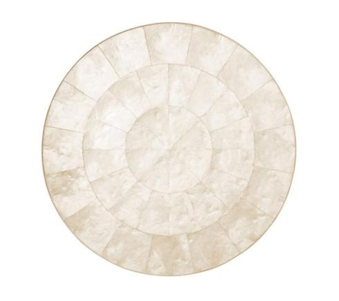 Kim Seybert Linens   Placemat - Capiz Shell Natural $95.00