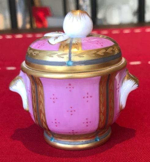 $1,099.00 Small Danish Palace Lustre Pink  Lidded Box