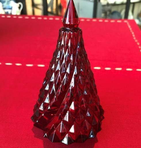 $420.00 Noel Diamant Fir Tree Red