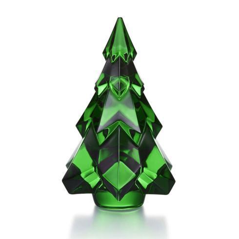 $290.00 Baccarat: Gstaad Fir Tree Green Small