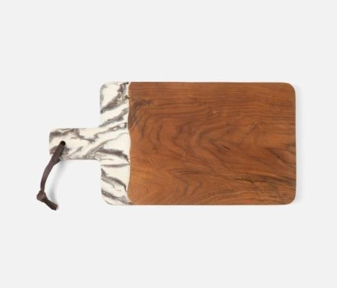 $228.00 Austin Brown Swirled Serving Board Large
