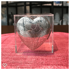 $238.00 Sterling Heart Box