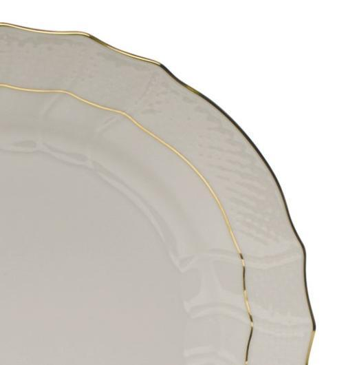 Goldsmith Cardel Exclusives Herend Imports Golden Edge Golden Edge: Fish Platter with Insert $660.00