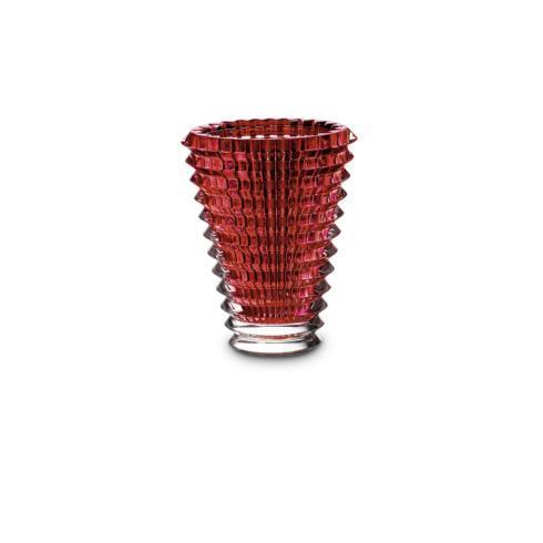 $550.00 Eye Vase Round Small Red