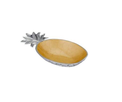 $99.00 Julia Knight: Pineapple Bowl Gold Saffron
