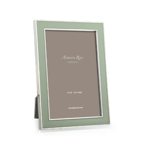 $63.40 Addison Ross: Sage Enamel Frame 5x7
