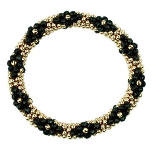 $660.00 Bracelet - Tia Black Black Onyx, 14k Gold