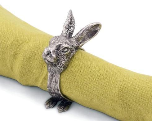 $30.00 Vagabond House: Napkin Ring - Rabbit