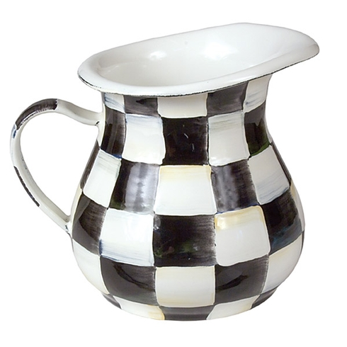 MacKenzie-Childs  Courtly Check Enamelware Courtly Check Enamel Creamer $48.00