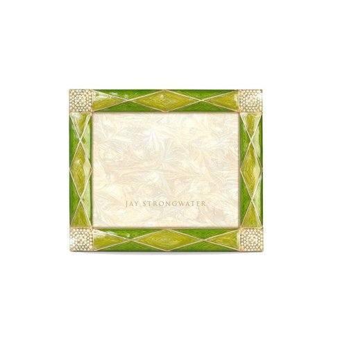 "$395.00 Francesca Argyle 3"" x 4"" Frame - Leaf"