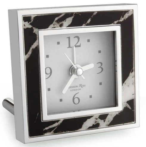 Black Marble Square Alarm Clock collection with 1 products