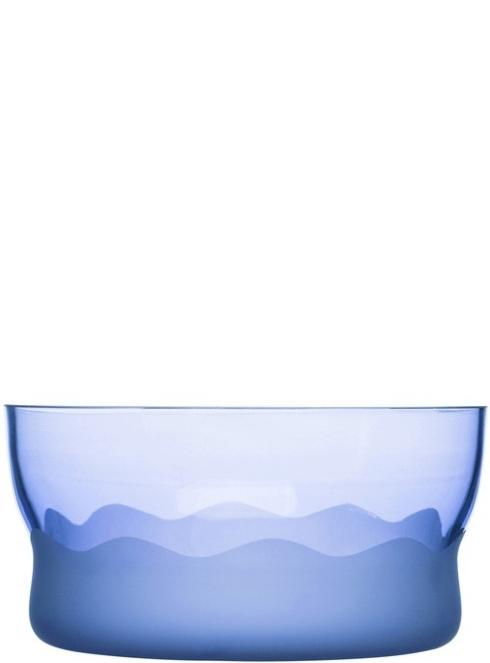 $60.00 Aqua Wave Serving Bowl - Blue