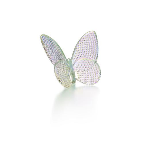 $200.00 Baccarat Lucky Butterfly - Iridescent Clear Diamond (Diamant)