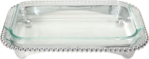 Mariposa  String of Pearls String of Pearls Rectangular Baker/Casserole with 3-Quart Pyrex Dish $139.00