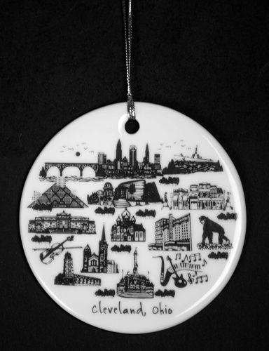 $15.00 Cleveland Ornament