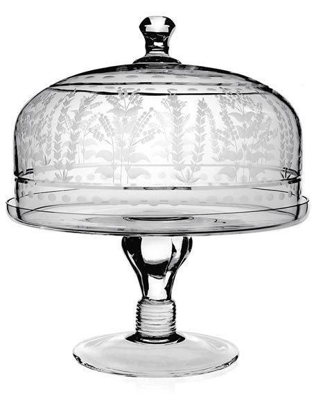 Cake Stand & Dome 12