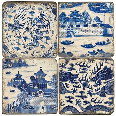 $48.00 Chinese Export - Set of Coasters