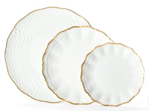 Medard de Noblat - Corail - Or - Dinner Plate