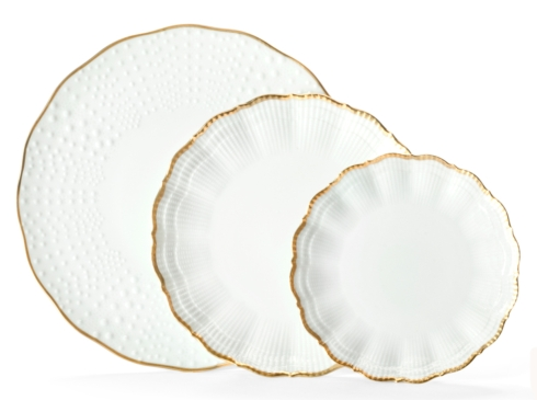 Medard de Noblat - Corail - Or - Dinner Plate collection with 1 products
