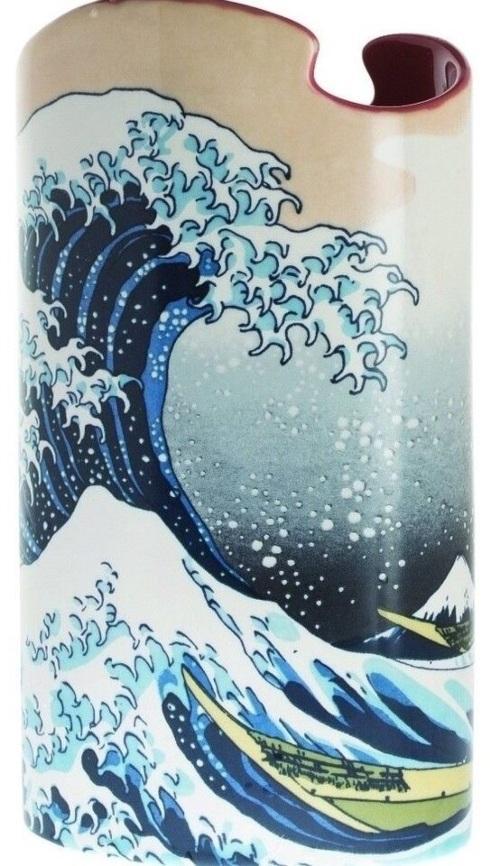 Dartington -Beswick Hokusai - The Great Wave Ceramic Vase