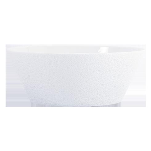 Bernardaud  Ecume White Salad Bowl - Medium $253.00