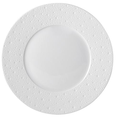 Bernardaud  Ecume White Ecume White Dinner Plate $63.00
