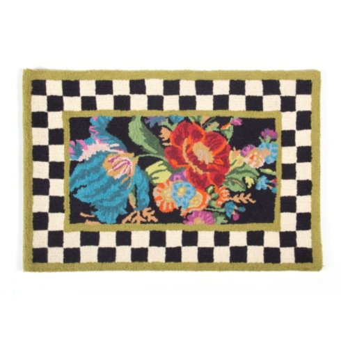 MacKenzie-Childs  Rugs Flower Market Rug - 2\' x 3\'  $150.00