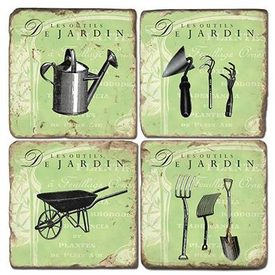 $48.00 Garden Tools - Set of Coasters