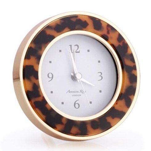 Tortoiseshell Alarm Clock (2 Color Choices)