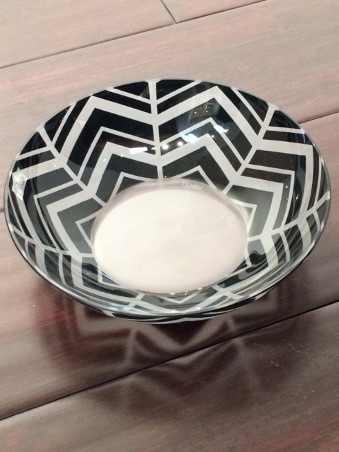 Artel Herringbone Black Trinket Bowl, Large collection with 1 products