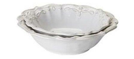 $150.00 Juliska - Jardins du Monde - Whitewash Nesting Bowl Set