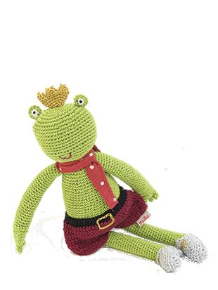 $30.00 Knitted Frog, Crochet