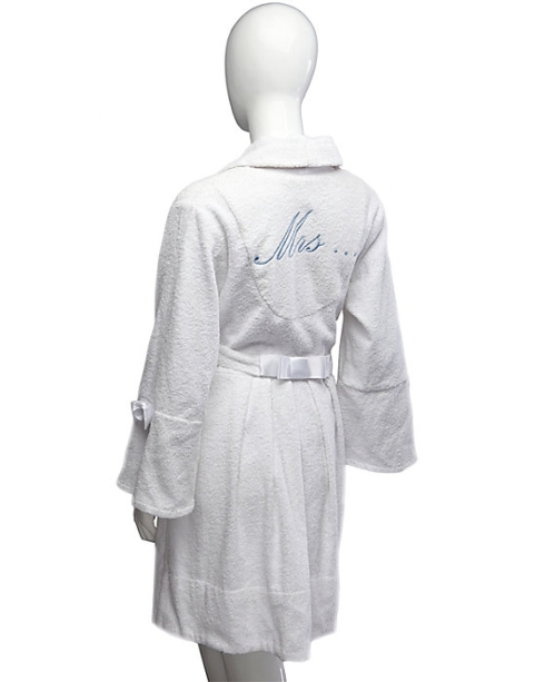 $79.00 Bridal Loop - Mrs. - Terry Robe