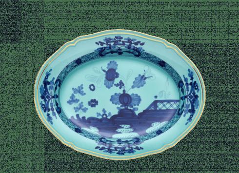 Large Oval Platter - Iris