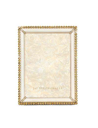 """$595.00 Gold Lucas Stone Edge 5"""" x 7"""" Frame"""