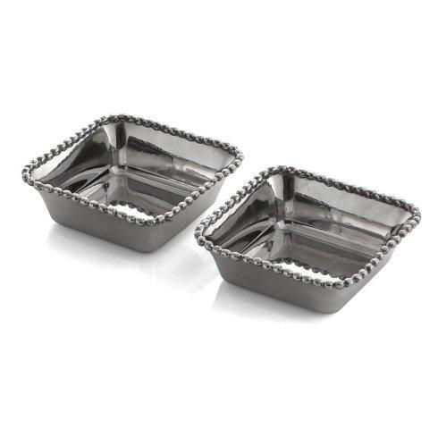 $80.00 Michael Aram Molten Double Mini Snack Dish Set