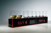 "Riedel  O ""O"" Viognier/Chardonnay Buy 8 Pay 6 $89.00"