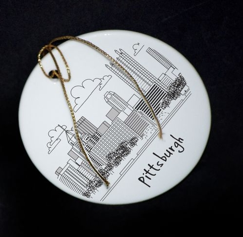 $25.00 Pittsburgh Ornament