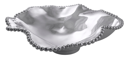 Mariposa  String of Pearls Pearled Wavy Large Serving Bowl $198.00