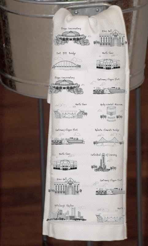 $18.00 Pittsburgh Tea Towel