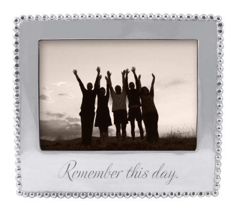 """Mariposa  Frames """"Remember this Day"""" 5 x 7 Frame $69.00"""