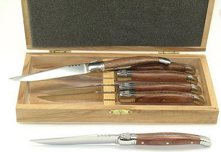 Arceau - 6 Laguiole Rosewood Handle Knives collection with 1 products