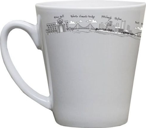 $25.00 Pittsburgh Short Mug