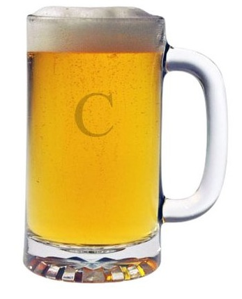 Monogrammed Pub Beer Mugs, Set of 4 collection with 1 products