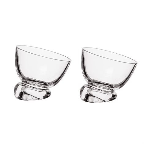 Sweet Dessert Bowls 2-pack, Clear collection with 1 products