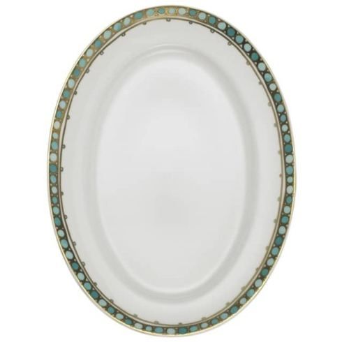 Syracuse Turquoise Oval Platter, Small collection with 1 products
