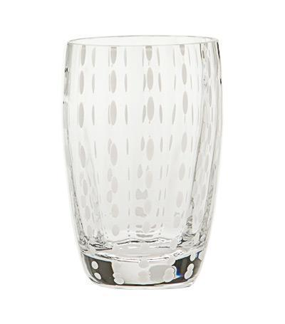 Zafferano Perle Tumbler - Transparent collection with 1 products
