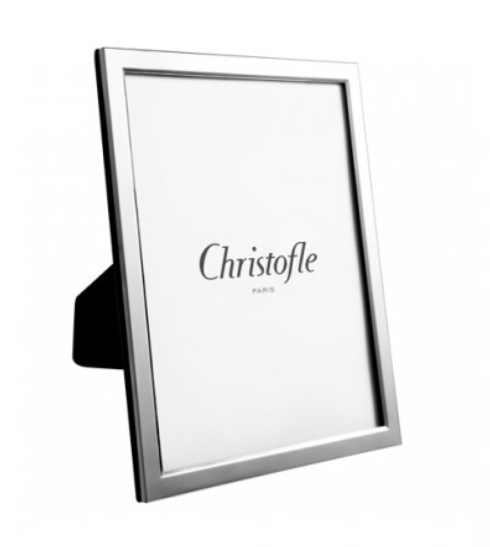 "Christofle  Uni Uni 5"" X 7"" Silver-Plated Picture Frame $175.00"