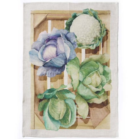 Vietri - La Cucina Cauliflower Kitchen Towel collection with 1 products
